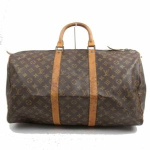 Auth Louis Vuitton Keepall 50 Travel #1769L21